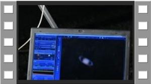 揺れる望遠鏡 その2 実験編