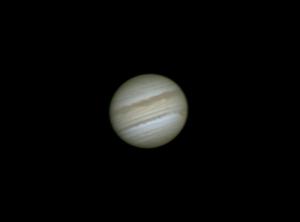 シーイング悪し! 木星