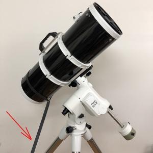 揺れる望遠鏡