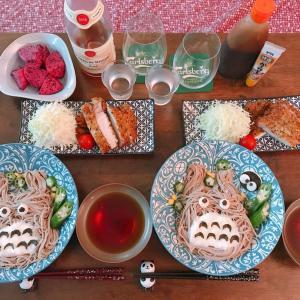 トトロ蕎麦【おうちごはん】