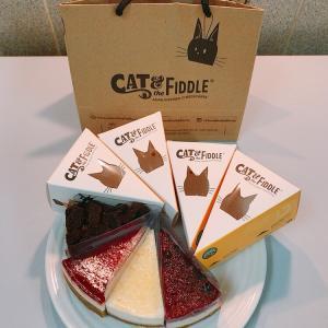 【CAT&the FIDDLE】にゃんこいっぱいのチーズケーキ
