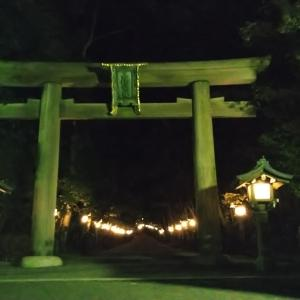 饒速日を求めて ⑩ ~夜の大神神社~