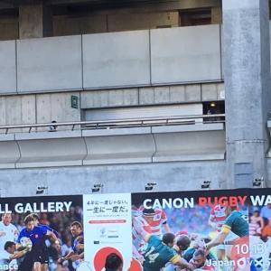 日本がスコットランドに勝利!でももっとすごいのはマッチが行われた競技場!