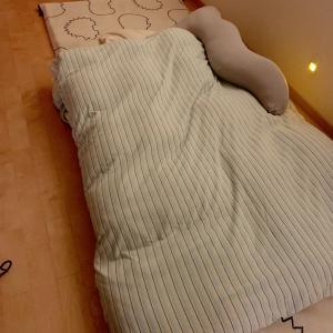 私の新しい寝床。