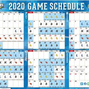 2020年 プロ野球開幕