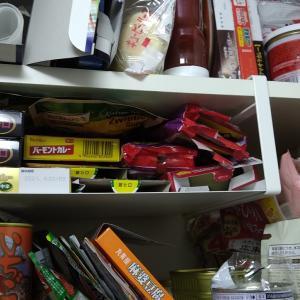 収納の無駄スペースを潰すために、その棚にあえてもう1つ棚を入れてみた話。コの字ラックと吊り下げ式が便利!