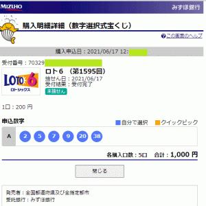 振り子占い 本日の実占結果 ロト6