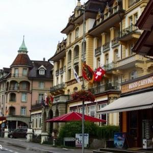 【スイス旅行②】インターラーケンの街散策