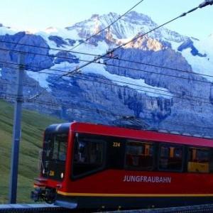 【スイス旅行④】アルプスの乙女、ユングフラウ