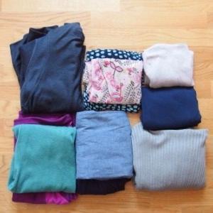 冬が来る前の衣類整理