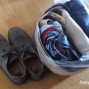 夫、衣類のお片付け