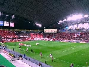 Jリーグ杯準決勝 札幌 1-0 G大阪 試合終了