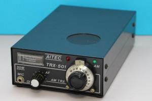 アイテック電子研究所 6m QRP AM トランシーバー(TRX-501)のページを更新(2020.01.01)