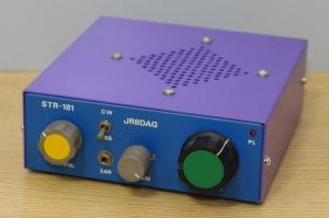 18MHz同一トランジスタ受信機(STR-181)のページを更新(2020.07.28)