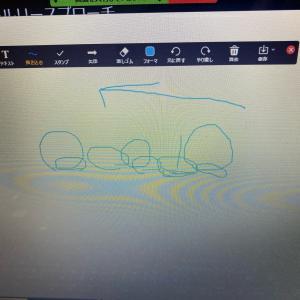 オンラインレッスン中に生徒さんから「わかりやすい!」って言われたzoomのホワイトボード機...