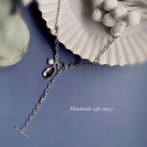 淡水パールのネックレス5th anniversary HAPPY BOXの作品です...