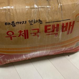 韓国 @etsuko2190 さんから可愛い糸をご紹介してもらい直輸入しましたパートナ...