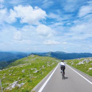 天国かと思った四国カルストサイクリング