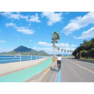 しまなみ海道サイクリング(+高根島ほぼ2周)102km