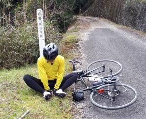 黄色いジャージでカレーを食べに行ったサイクリング