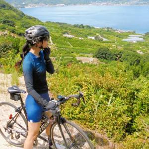 夏のしまなみ海道サイクリング100km+ゆるめヒルクライム2本