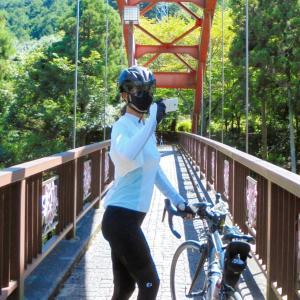 残暑サイクリングと絶景アスレチックとドローン試験の結果など