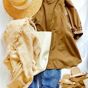 「いつも同じ服」というお悩みは小物のスイッチで解消できます!着こなしバリエは無限大♪