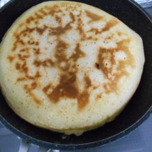 備蓄しやすい小麦粉利用・ホットケーキミックスを使わないで作るホットケーキ