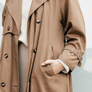 無印のコートを手放し現状に合うコートに入れ替えた
