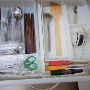 【公開】台所(キッチン)のしまう収納と見せる収納・カトラリーとツール編