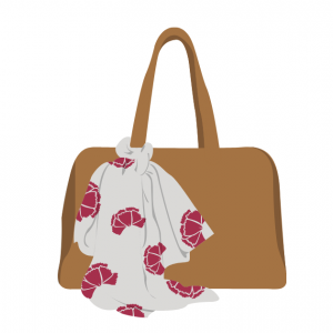 持ち物を落とさないバッグの選び方