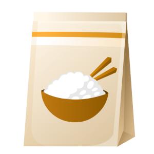 米はロウカット玄米に統一して食事の支度と買い物の手間をカットした