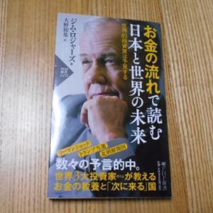 『お金の流れで読む日本と世界の未来/著/ジム・ロジャーズ』書籍感想・日本の未来とこれからできる対策とは