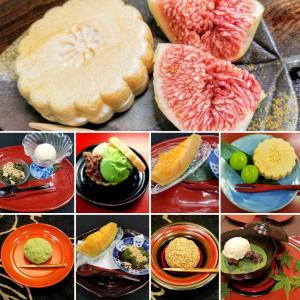 季節のフルーツと和のデザート