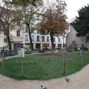 パリ サンジェルマンデプレ教会 アポリネールとピカソ