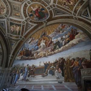 聖体の論議 署名の間 ピオクレメンテ美術館 バチカン美術館