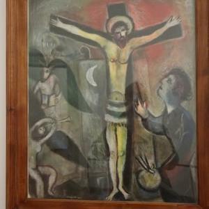 マルク シャガール 現代美術の展示のエリア バチカン美術館