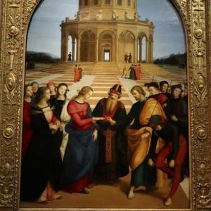聖母の結婚 ラファエロ ブレラ美術館 ミラノ