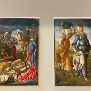 サンドロ・ボッティチェリ ウフイッツイ美術館 フィレンツェ