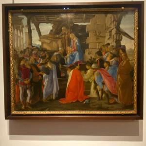 東方三博士の礼拝 ボッティチェリ ウフィッッイ美術館 フィレンツェ