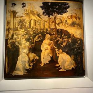 絵の渦 心の渦 レオナルド・ダ・ビンチ ウフィッッイ美術館