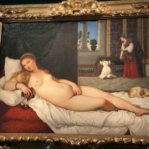 ティツィアーノのビーナス ウフィッッイ美術 フィレンツェ
