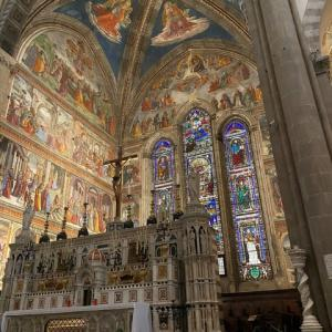 素晴らしいフレスコ画 サンタ マリア ノベツラ教会 フィレンツェ