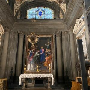 ガディ礼拝堂 サンタ マリア ノヴェッラ教会 フィレンツェ