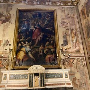 バルディ礼拝堂 サンタ マリア ノヴェッラ教会 フィレンツェ