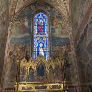 ストロッィ家の礼拝堂 サンタ マリア ノベツラ教会 フィレンツェ