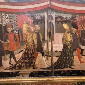 ロ スケッジャてだれ アカデミア美術館 コロッソの大広間