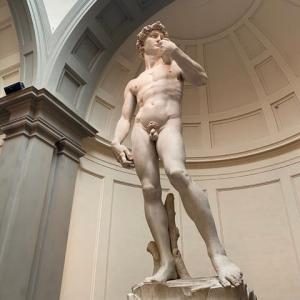 ぐるっと見てください アカデミア美術館 ミケランジェロ