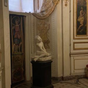 とても厳かな気分に パラティーナ美術館 ピッティ宮 フィレンツェ