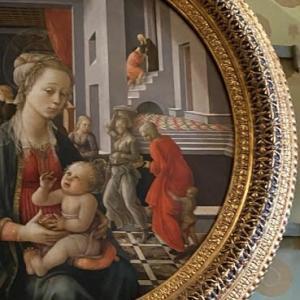 リッピが描く聖母が好き プロメティウスの間 パラティーナ美術